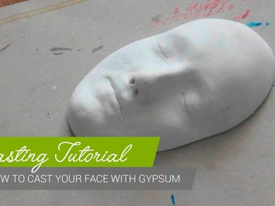 Casting Tutorial - How to cast your face with gypsum [ENG]