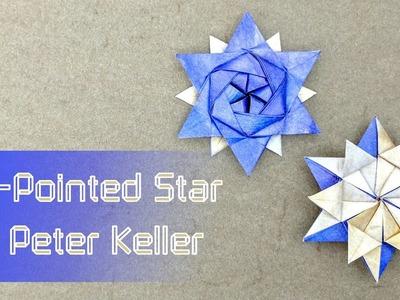 Christmas Origami Tutorial: 12-Pointed Star (Peter Keller)