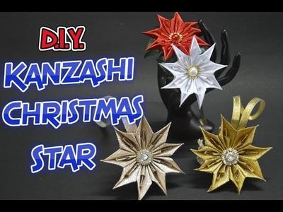 D.I.Y. Kanzashi Christmas Star | MyInDulzens