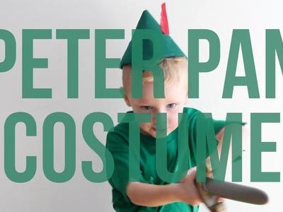 Disney's Peter Pan No Sew Halloween Costume for Kids
