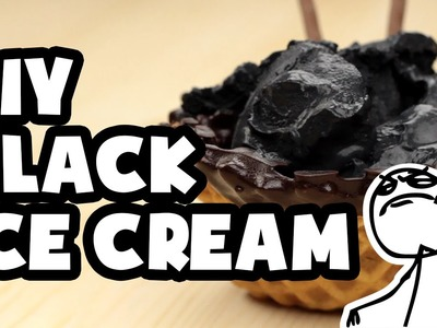 DIY Darkest Black Ice Cream Ever - Cook It Like a Boss