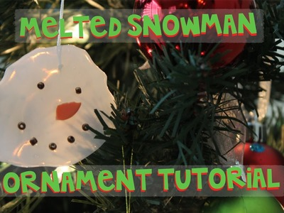 Do You Wanna Build A Snowman? | Easy Ornament Tutorial | Hot Glue Snowman Ornament
