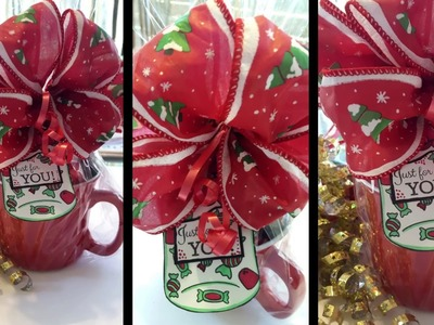 Dollar Tree Holiday Gift Idea - Candy Cup