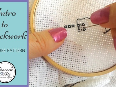 Embroidery stitches: an introduction to blackwork