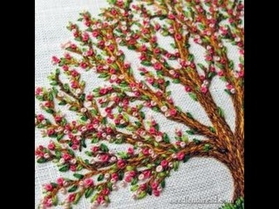 Embroidery stitches by hand tutorial | hand embroidery for beginners