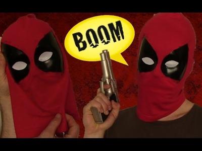 Freaking Easy Deadpool Mask Tutorial