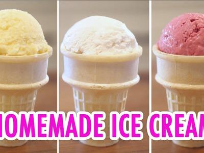 Homemade Ice Cream - 3 Ways! - HGTV Handmade