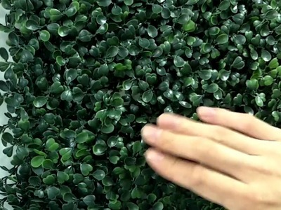 How to diy artificial hedge with boxwood hedge panel