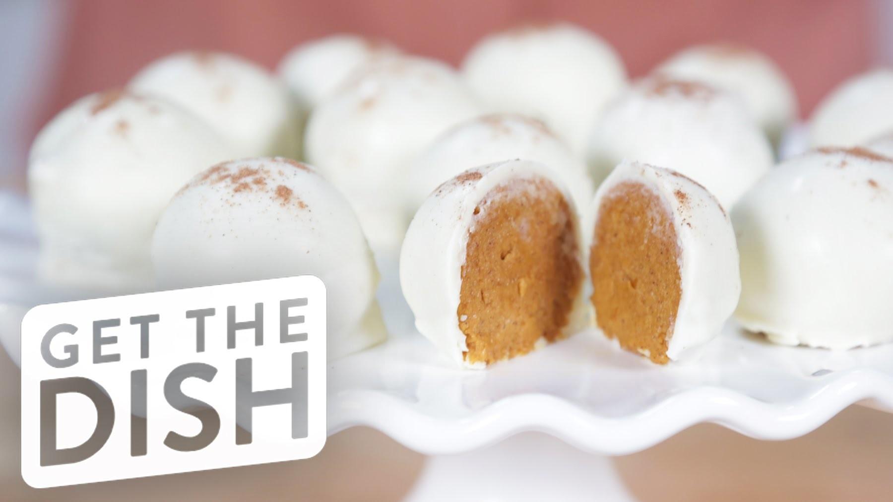 How to Make 5-Ingredient Pumpkin Pie Truffles | Get the Dish