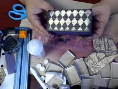 HOW TO MAKE A MATCH BOX DRESSER