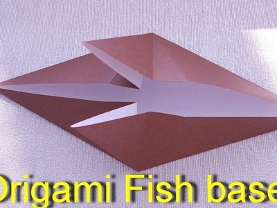 Cat How To Make A Origami Fish Base Origami Cat How To Make A