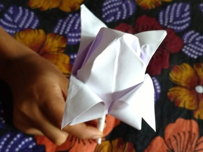 How to Make Beautiful Rose Flower with Paper