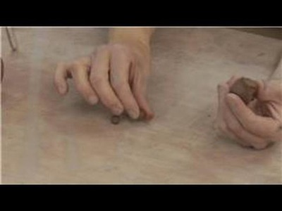 How to Make Pinch Pots : How to Make Clay Rattle Beads