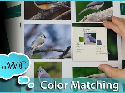 How to Match Colors and Values in Watercolor