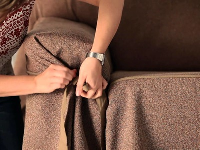 How to Put an Elegant Fitted Sofa Cover