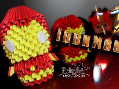 IronMan 3D Origami   Pekeño ♥