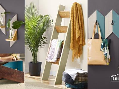 Make a Decorative Ladder for Blankets
