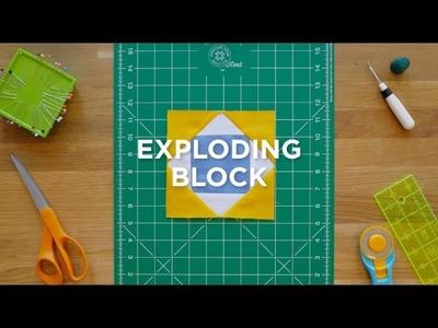 Make an Easy Exploding Block Quilt - Quilt Snips!