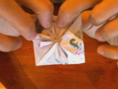 Making Heart Shaped Money - Origami