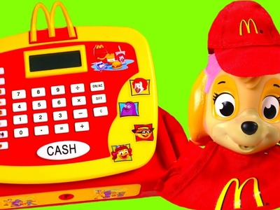 McDonalds Cash Register with Paw Patrol - Happy Meal Toys Chocolate Surprise Eggs Blind Bags