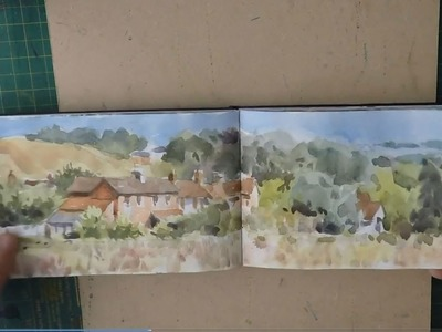 My  Sketch Book Watercolours - Watercolor Journal Painting