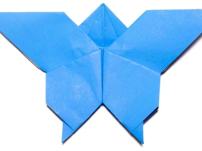 Origami Butterfly. Easy Origami for Kids and Beginners