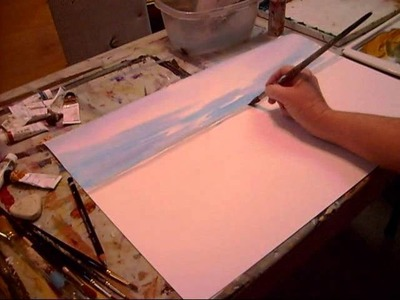 Painting a beach watercolor wmv 0001