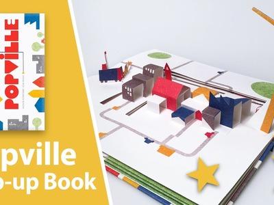 Popville Pop-Up Book by Anouck Boisrobert and Louis Rigaud