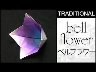 Traditional origami bellflower tutorial mightylinksfo