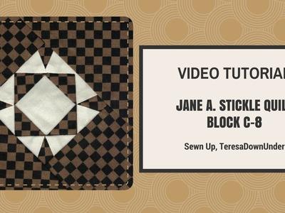Video tutorial   Dear Jane quilt block C08