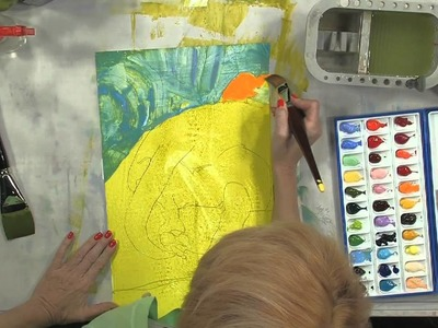 Watercolor Painting on Yupo: The World Behind Molly Anne the Dog, Part 1