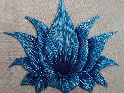 What Can I Sew in 20 Minutes? Lotus Flower Day 14