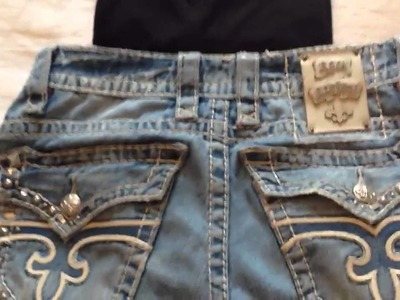 What do you wear with Rock Revival Jeans? (Or any pair with a lot of stitching) - [720p] HD