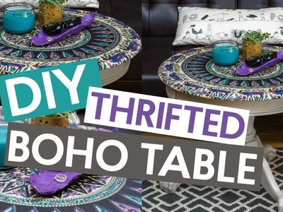 BOHO THRIFT STORE INSPIRED TABLE | Tumblr Inspired