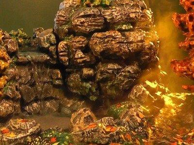 Build a Waterfall (Autumn theme)