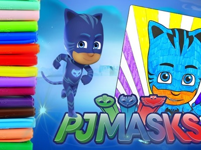 Coloring Catboy - PJ Masks Kids Coloring Pages Episode | Evies Toy House