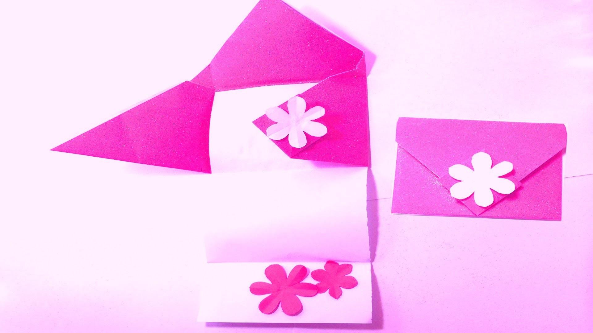 Diamond fold note greeting card DIY tutorial