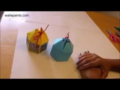 DIY Crafts | Paper Crafts | How To Make Hexagonal Gift Box