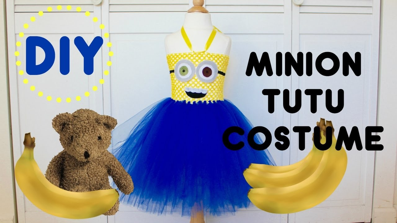 DIY Minion Tutu Costume | Halloween Costume Tutorial