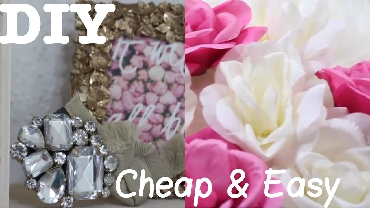 DIY Wall Decorating Ideas - SUPER Easy and Cheap