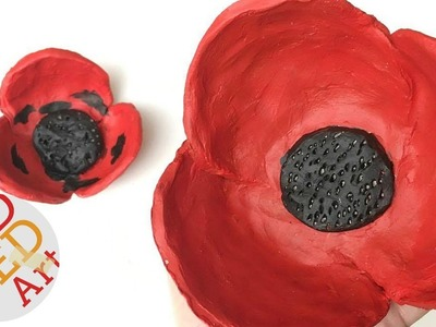 Easy Poppy Bowl DIY - DIY Gift Ideas - Remembrance Day Activities