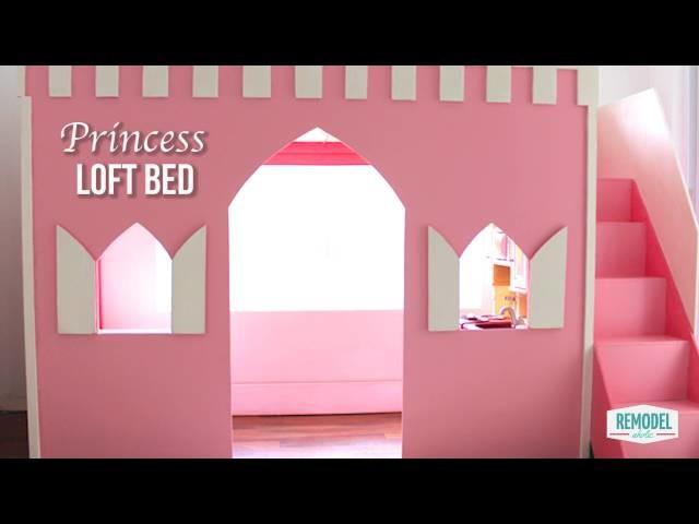 How to Make a Princess Loft Bed