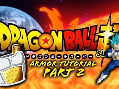 How to make Dragon Ball Z Saiyan Armor part 2