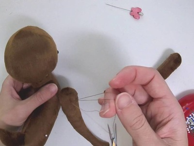 How to make plush: Thread jointing
