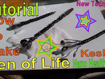 Keshe Health Pen - Tutorial - How To Make The Pen of Life - New Plasma Technology
