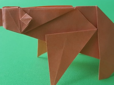 Origami Bear (How to make)