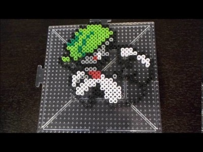 Pokemon. How to make Gardevoir with Perler Beads