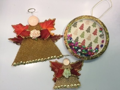 Quick & Easy Christmas Ornaments - Day 2 & Discount Code