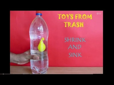 SHRINK AND SINK - MALAYALAM - New Cartesian Diver!