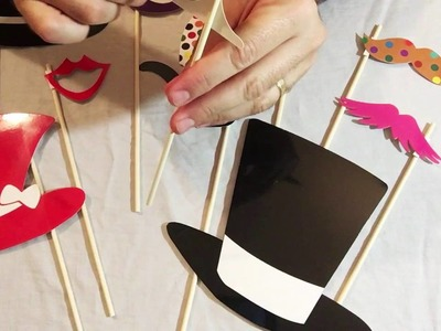 TinkSky Photo Booth Props 60 piece DIY Kit Review